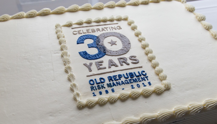 Old Republic Risk Management is 30 Years Old!